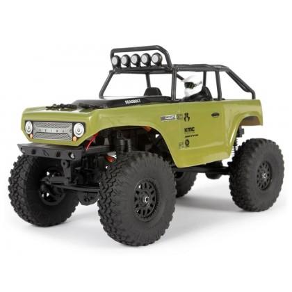Axial 1/24 SCX24 Deadbolt 4WD Rock Crawler Brushed RTR - Green AXI90081T2