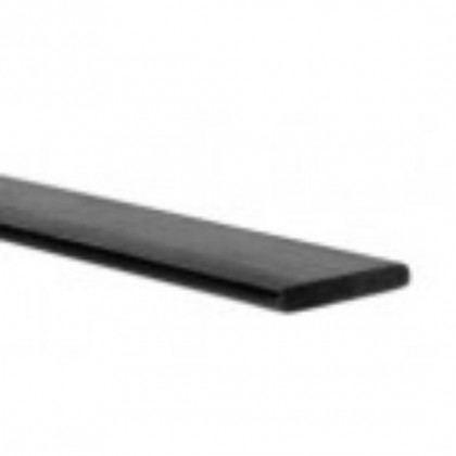 CARBON FIBRE BATTEN/STRIP 1.0mm x 5.0mm x 1mt