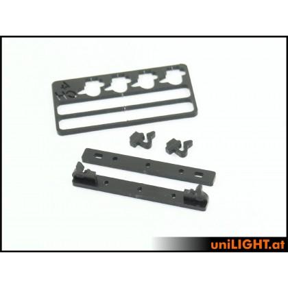 UniLight Assembly brackets Black Series by STV
