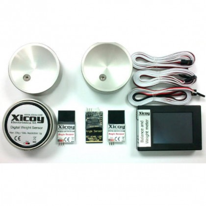 COG Center of Gravity Digital weight and Balance Meter & Angle Meter Kit from Xicoy Version 2 CGAngPro