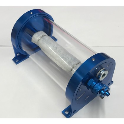 Digitech Air Trap 250 Ml High Flow UAT Bubble Trap Blue with Fittings Options