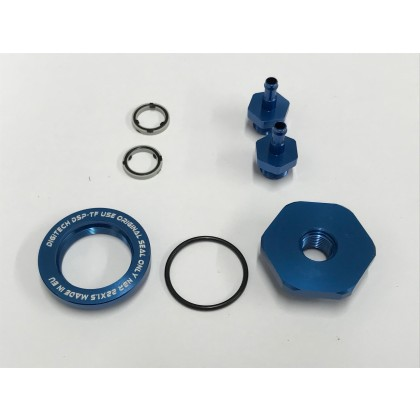 Digitech High Flow Fuel Tank Fitting Barbed for 6mm Festo Tube or 1/8 & 5/32 Tygon Tube