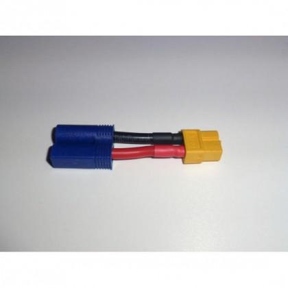 EC5 Male - XT60 Female Adapter