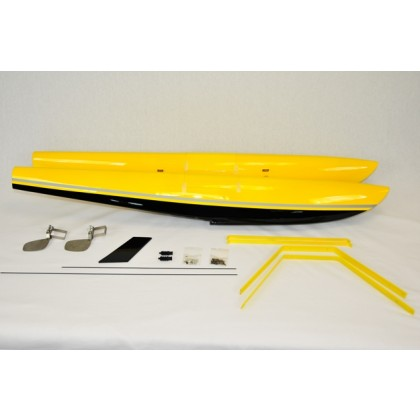 "Float Kit 84"" Turbo Bushmaster Yellow / Black Extreme Flight L304-YF"
