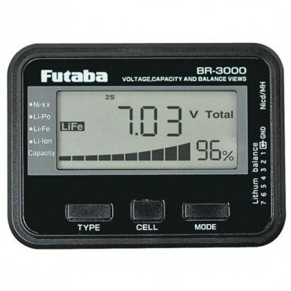 Futaba Battery Checker / Balancer - Universal P-BR-3000