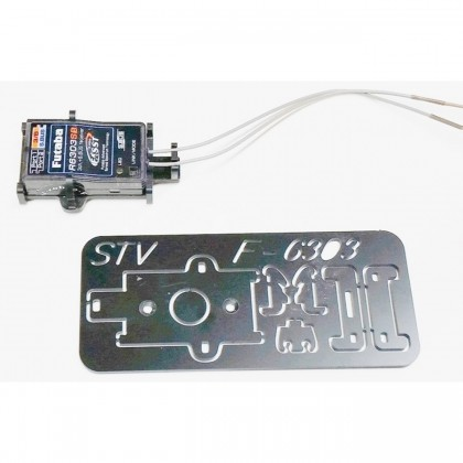Futaba-R6303SB & R7003SB Click Holder from STV-Tech 013-04