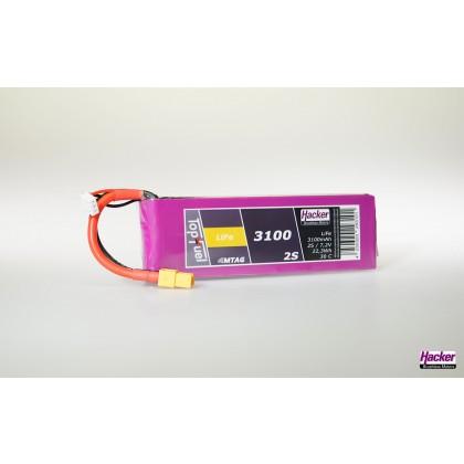 Hacker TopFuel LiFe Battery 2S 3100mAh XT60 MTAG 93100251