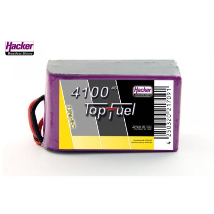Hacker TopFuel LiFe Battery 4S 4100mAh 30C With MTAG 94100451