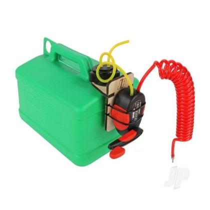 J Perkins Fuel Caddy Fueling System Green Petrol 5 Litres Can JPDA0001