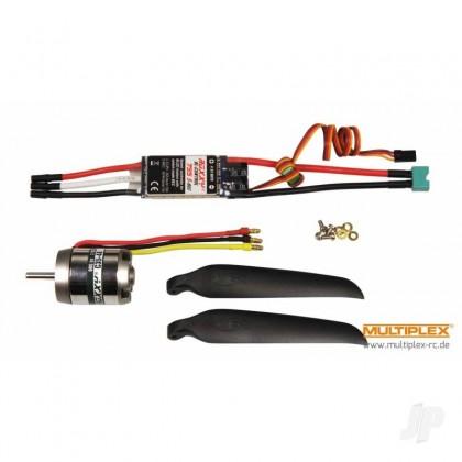 Multiplex Lentus Power Set with 11x7 Folding Propeller MPX1-01183