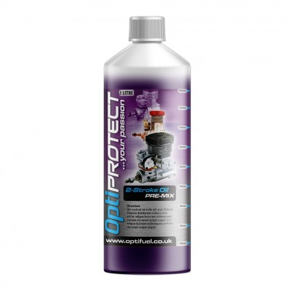 Optifuel OptiProtect 2-Stroke Oil Pre Mix 1L OPTI-PREMIX-1000