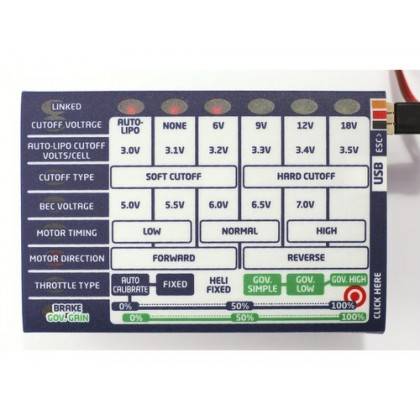 Castle Field Link Portable Programmer Tuning Card For Flying