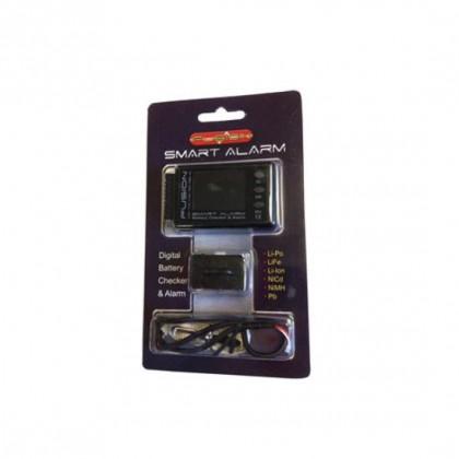 Smart Alarm Lithium Battery Checker & Alarm FS-BC06