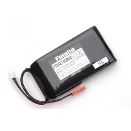 Futaba Tx Battery 6.6v Li-Fe 2200mAh 4PV/4PLS/4PX/8J/10J/14SG/18SZP-FT2F2100B