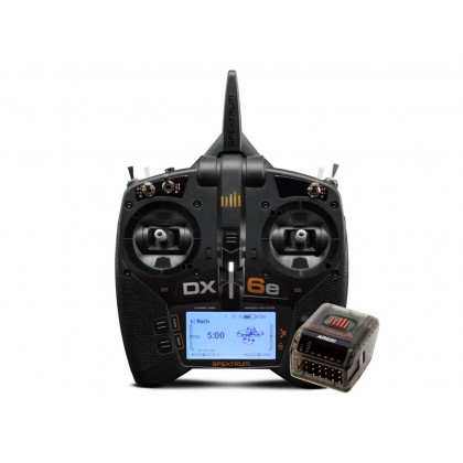 Spektrum DX6e 6 Channel Transmitter With AR620 Receiver SPM6655EU