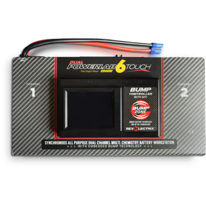 CellPro PowerLab 6 Touch Dual Output Multi-Chemistry 2000W Battery Workstation from Revolectrix LC06S40ATDIC-MC
