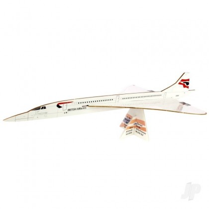 Prestige Models Concorde Alpha Foxtrot 50th Anniversary Edition Freeflight Kit PRS1002