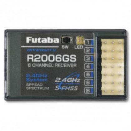 Futaba R2006GS 6 Channel Receiver (S-FHSS) 2.4GHz