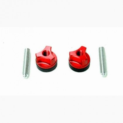 Secraft Wing Bolts 1/4-20 (Aluminium Screw) (Red) SEC103