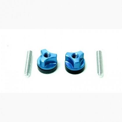Secraft Wing Bolts 1/4-20 (Aluminium Screw) (Blue) SEC104