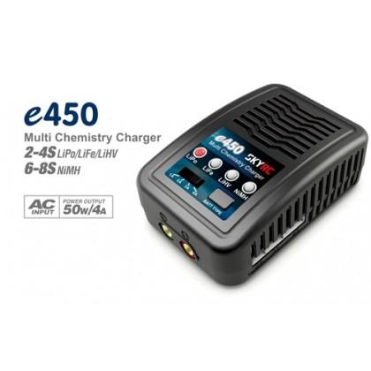 SkyRC E450 Lipo Charger AC 4A 50W 2-4s SK-100122