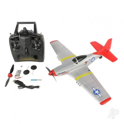 Sonik RC P-51 400 RTF Mustang 4-Channel with Flight Stabilisation SNK761-5