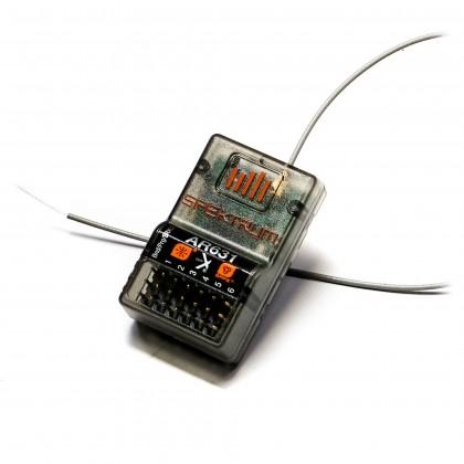 Spektrum AR631 DSMX 6-Channel AS3X & SAFE Receiver SPMAR631