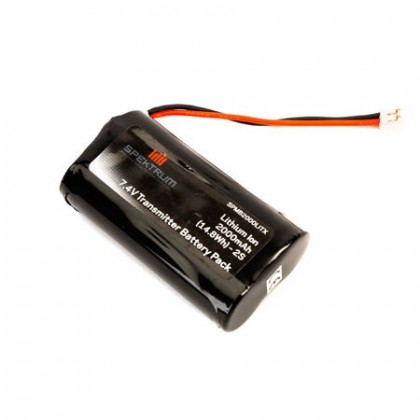 Spektrum DX9 2000 mAh TX Battery DX9,DX7S,DX8 SPMB2000LITX