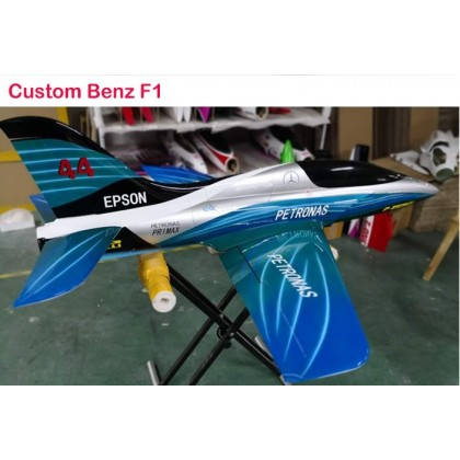 The T-One Fortune Jet By T-one Models Petronas Benz F1 Scheme in Stock Now.