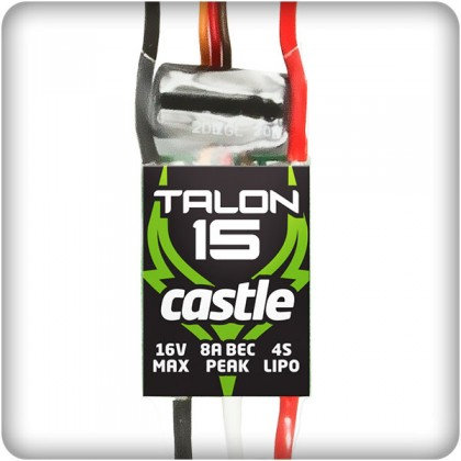 Castle Creations Talon 15 Brushless ESC 010-0129-00