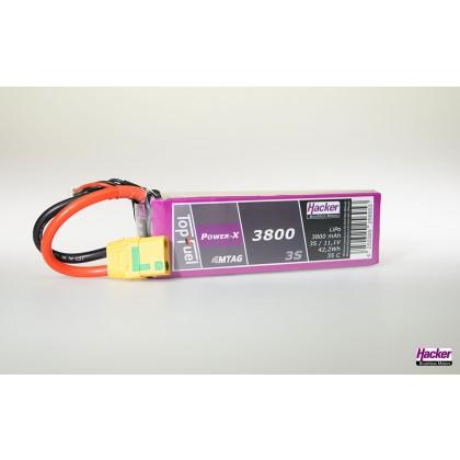 Hacker TopFuel LiPo 35C Power-X 3800mAh 3S MTAG 93800361