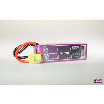 Hacker TopFuel LiPo 35C Power-X 5000mAh 3S MTAG 95000361