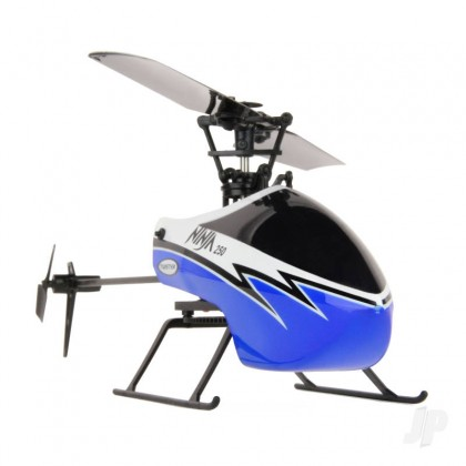 Ninja 250 Helicopter with Co-Pilot Assist, 6-Axis Stabilisation and Altitude Hold (Blue) TWST1001B