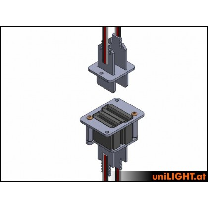 UniLight UniConnect Cable Connection Set 9 Primary 4 Secondary DIRECT (3 Servo)