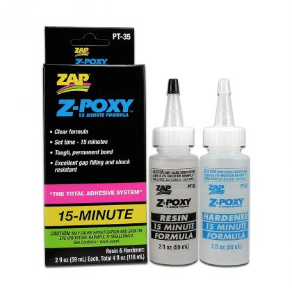 ZAP PT35 Z-Poxy 15 Minute Epoxy 4oz