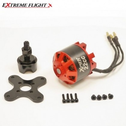 Xpwr 22CC Motor from Extreme Flight XPWR-22CC