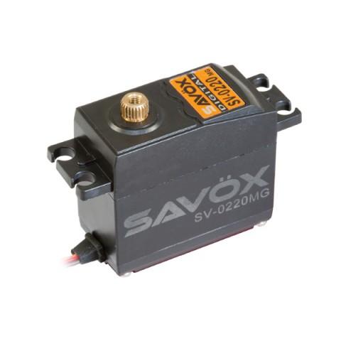 Savox SV-0220MG HV Digital Servo 8kg/0.13s@7.4v