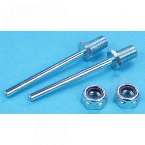 "Dubro 2"" x 5/32"" (51 x 4mm) Spring Steel Axle Shafts DB248"