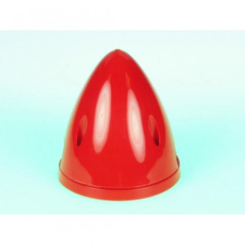 """3"""" Spinner 2 Blade in Red from Dubro DB298"""
