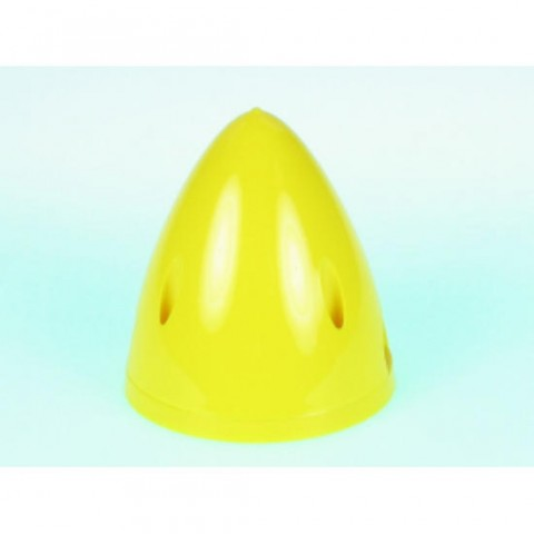 """3"""" Spinner 2 Blade in Yellow from Dubro DB299"""