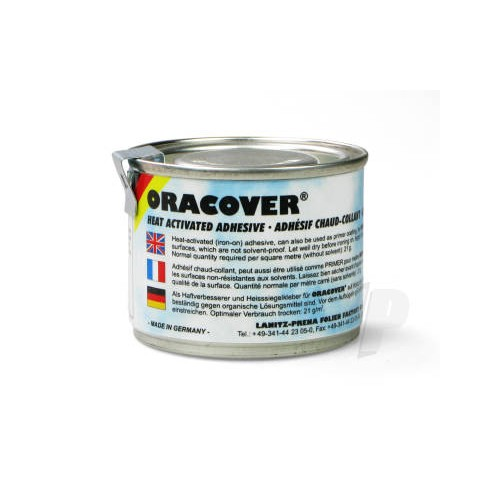Oracover Heat Activated Iron on Adhesive 0960 100ml Tin 5524781