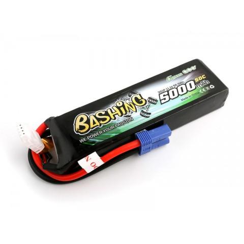 Gens Ace LiPo Car 3S 11.1V 5000mAh 50C Bashing with EC5 GC3S5000-50E5