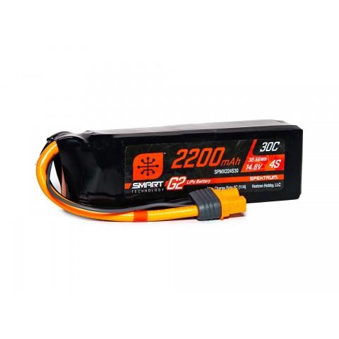 Spektrum 2200mAh 4S 14.8V SMART G2 30C IC3 SPMX224S30