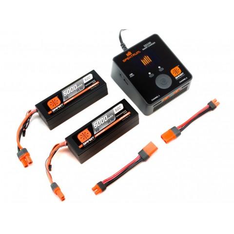 Spektrum Smart PowerStage Bundle 6S 5000mAh IC5 SPMXPS6I