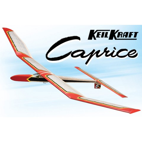 "Keil Kraft Caprice Kit 51"" Free-Flight Towline Glider KK1010"