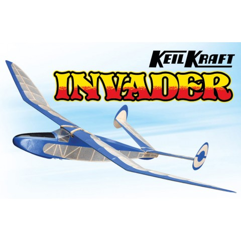 "Keil Kraft Invader Kit 40"" Free-Flight Towline Glider KK1020"