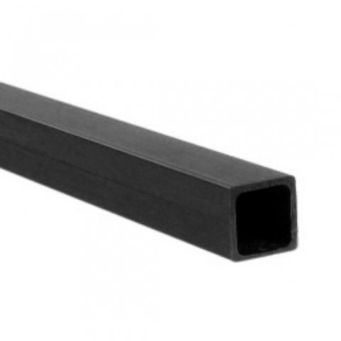CARBON FIBRE SQUARE TUBE 8.0mm x 7.0mm x 1mt