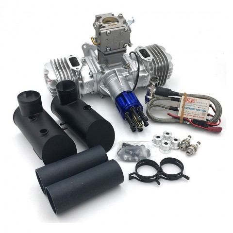 DLE-130 Twin Two Stroke Petrol Engine DLE130