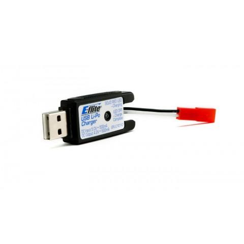 E-Flite 180 QX HD 1S USB Lipo Charger 500mah EFLC1010