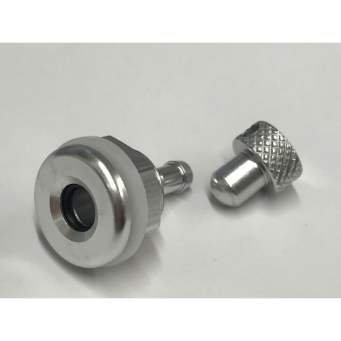 Intairco High Flow 6mm Fuselage Vent Fitting with Blanking Plug 6mm Barb IAC-317-1
